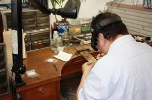 指輪の修理、貴金属修理・加工